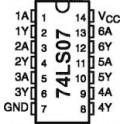 74LS07
